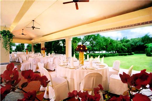 澳門威斯汀酒店草坪婚禮