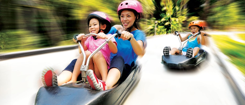 新加坡聖淘沙空中吊椅及斜坡滑車體驗票