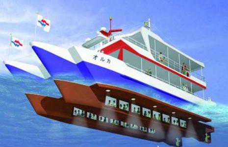 水中觀光船,那霸水中觀光船,水中觀光船沖繩,那霸觀光,那霸市觀光