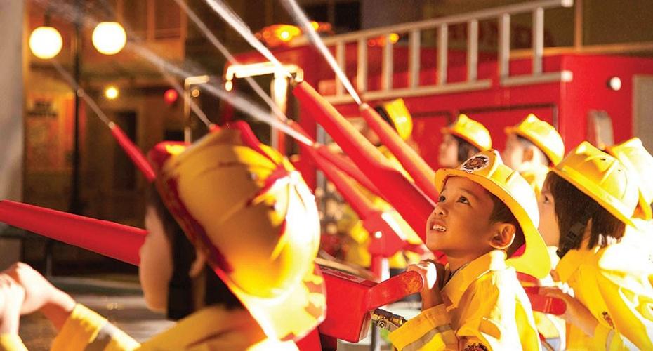 泰國曼谷kidZania兒童主題樂園門票