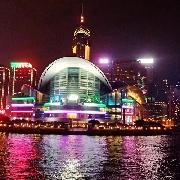 香港洋紫荊維港遊船東方之珠自助晚餐