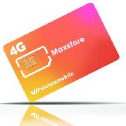 越南Vietnamobile 4G電話卡(20天60GB)