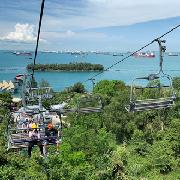 新加坡聖淘沙空中吊椅+斜坡滑車體驗門票