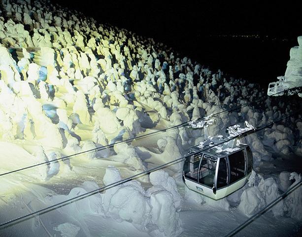 2019-2020山形藏王樹冰點燈夜間行程(纜車+雪上車 藏王山麓站集合)