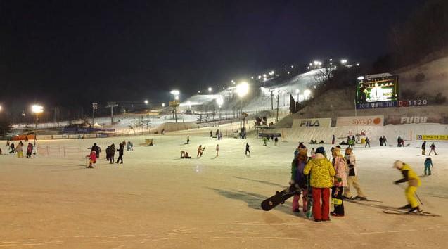 最新韓國鳳凰公園滑雪場介紹