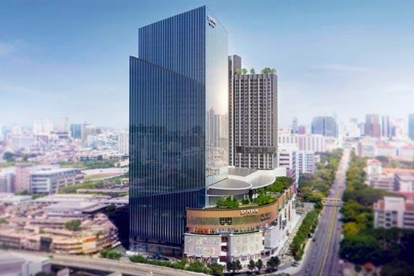 曼谷新商場Samyan Mitrtown山燕購物中心交通指南