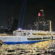 曼谷瑪麗蓮奧朗卡號國際自助晚餐+夜遊湄南河(Meridian Alangka Cruise)