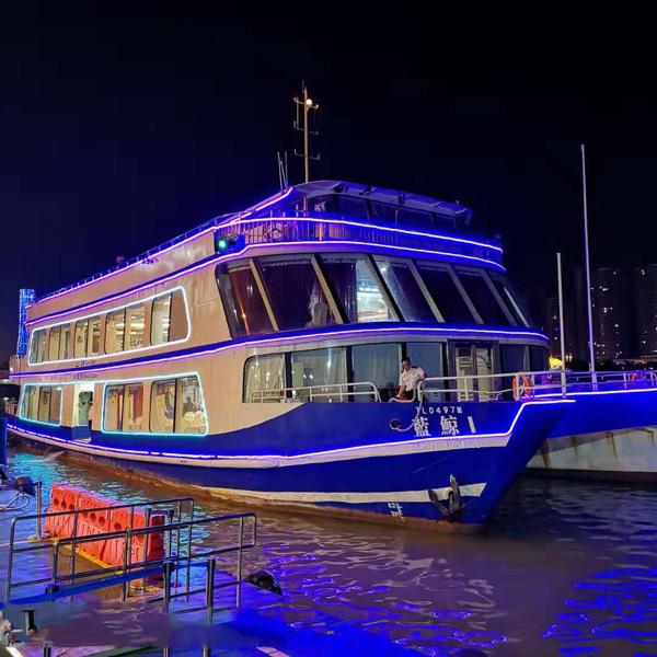 澳門粵通遊船海上夜遊觀光(含半自助晚餐)