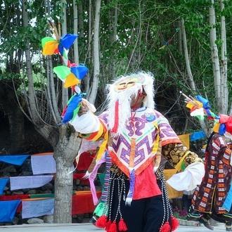 西藏尼木吞巴景區